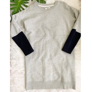 Madewell | colorblock sweater dress